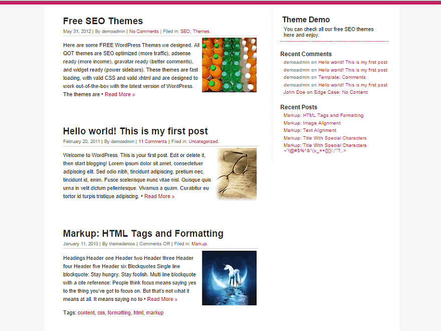 QuickChic theme wordpress gratuit