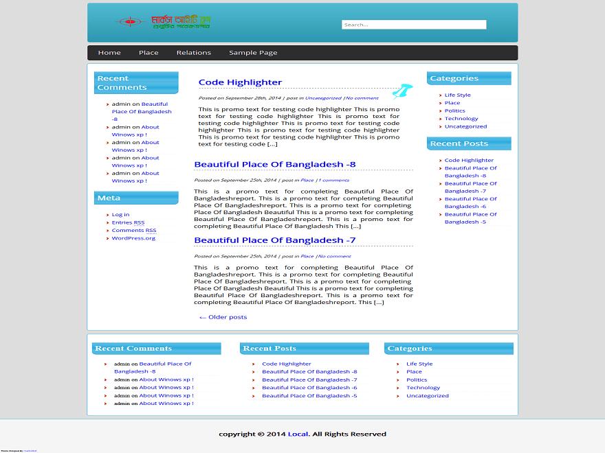 rafi theme wordpress gratuit