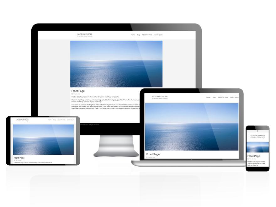 Rational Start theme wordpress gratuit