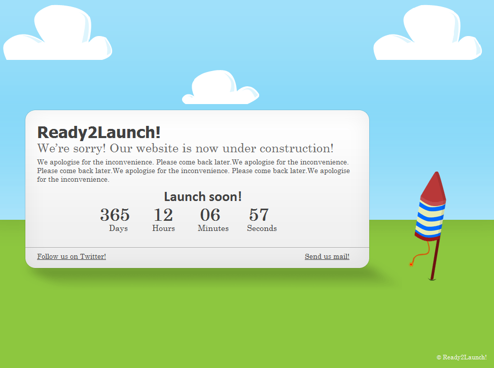Ready2Launch wordpress theme