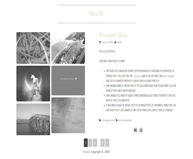 RealM theme wordpress gratuit