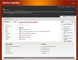 Red Evo Aphelion free wordpress theme