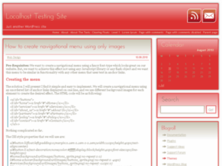 Red Shadow wordpress theme
