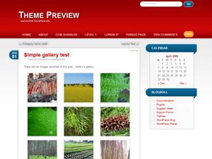 RedBel free wordpress theme