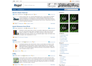 Regal free wordpress theme