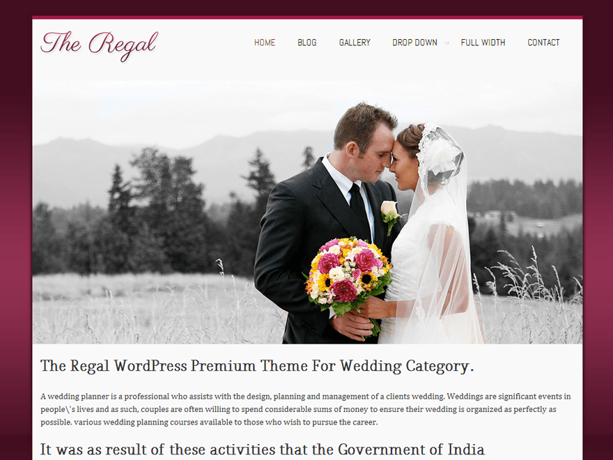 Regalway theme wordpress gratuit
