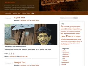 Rembrandt free wordpress theme