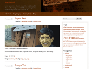 Rembrandt wordpress theme