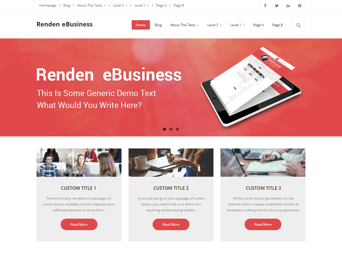 Renden eBusiness