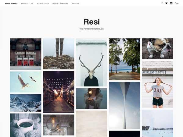 Resi free wordpress theme