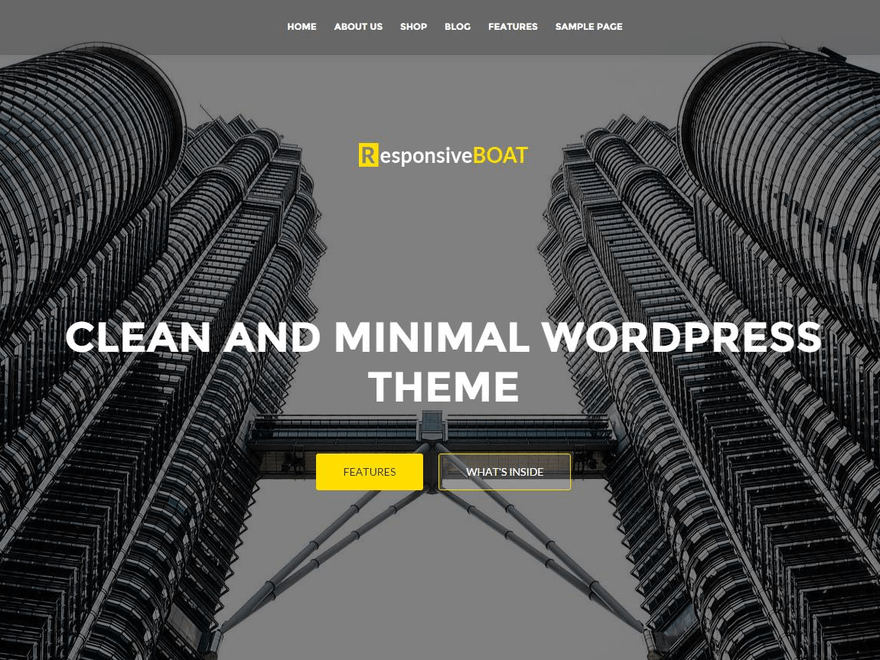 ResponsiveBoat free wordpress theme
