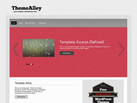 Responsivitis wordpress theme