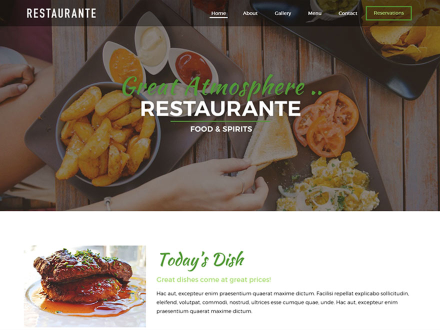Restaurante | WordPress.org