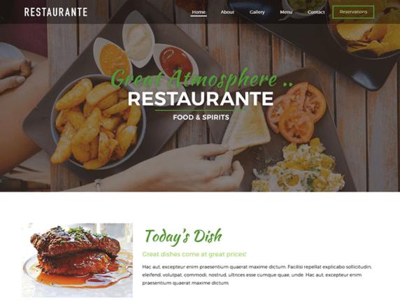 Restaurante | WordPress.org