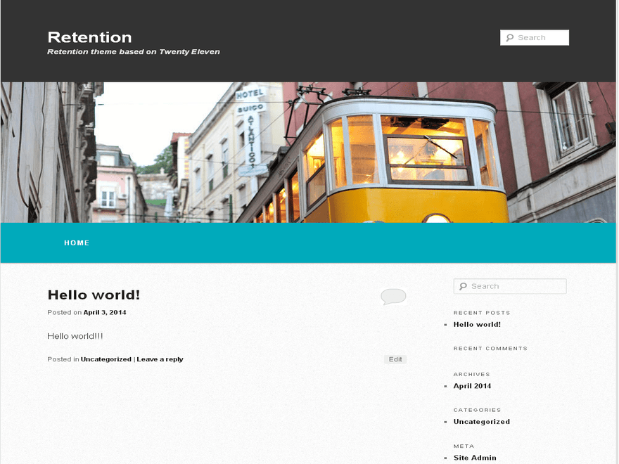 Retention free wordpress theme