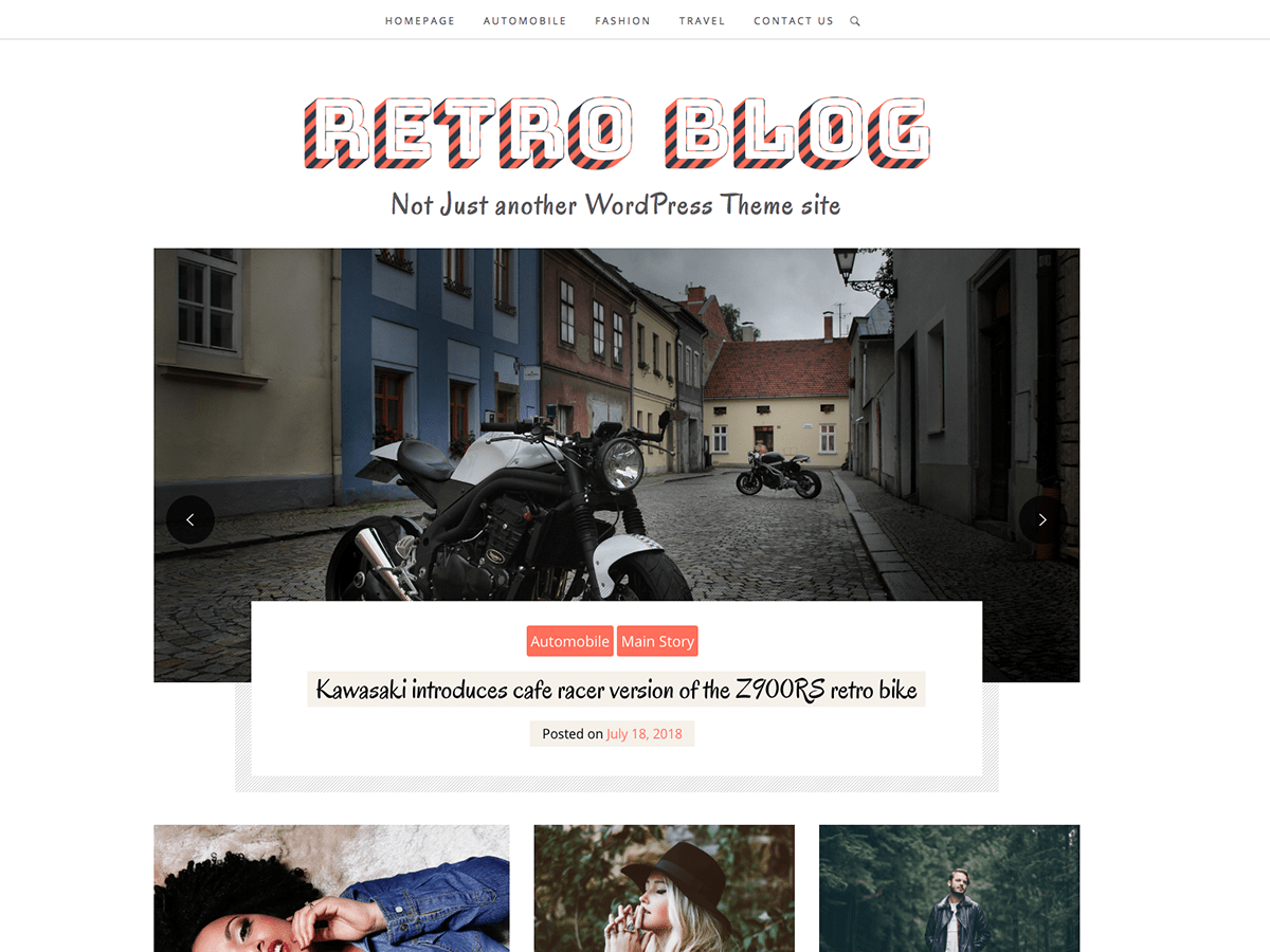 Retro Blog - WordPress theme | WordPress.org