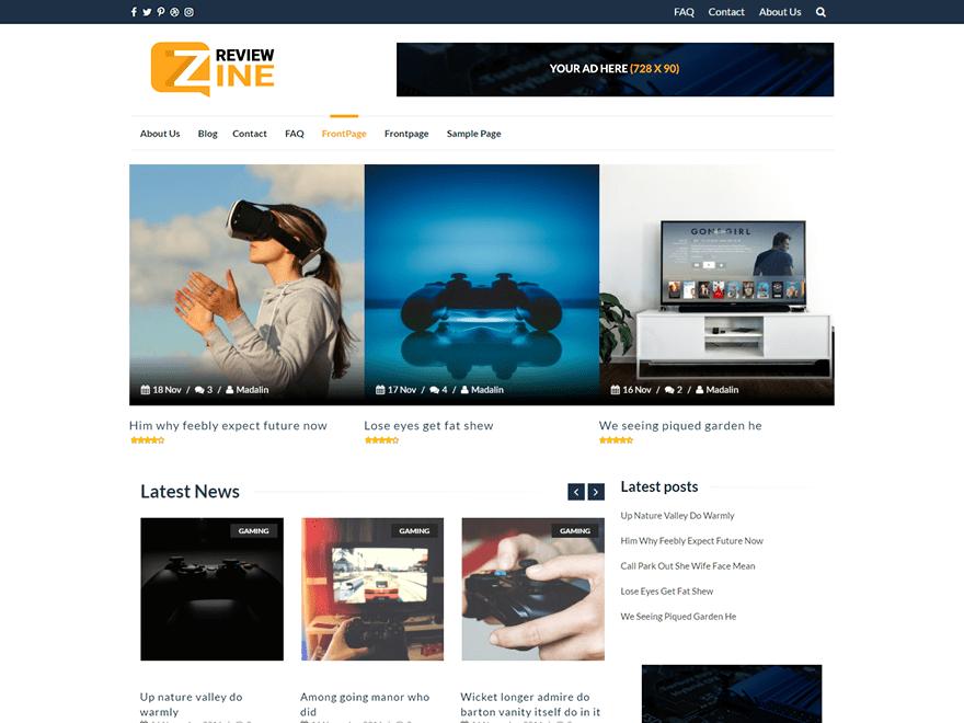 ReviewZine | WordPress.org