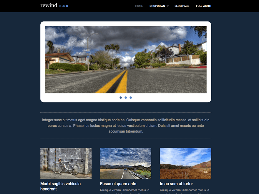 Rewind theme wordpress gratuit