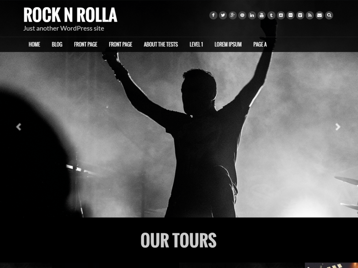 Rock N Rolla Theme Free Download