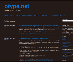 Roughdrive free wordpress theme