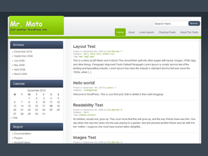 rtMoto free wordpress theme