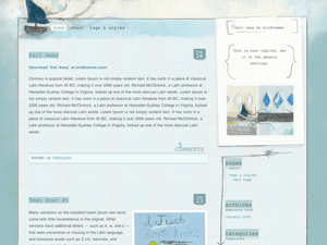 Sail Away free wordpress theme