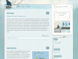 Sail Away wordpress theme