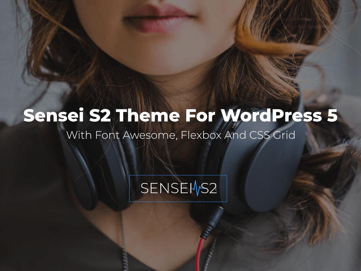 WordPress主题:Sensei S2