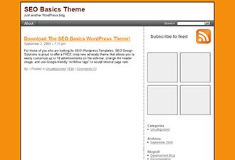 SEO Basics free wordpress theme