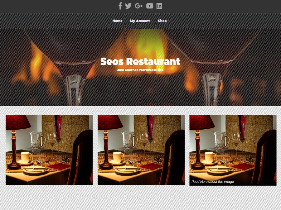 SEOS Restaurant WordPressorg - Restaurant template wordpress