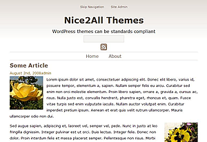 Sepia free wordpress theme