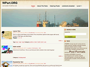 Set_Sail free wordpress theme