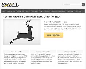 Shell Lite free wordpress theme