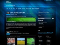 Shine free wordpress theme