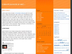 ShinRa of the Sun wordpress theme