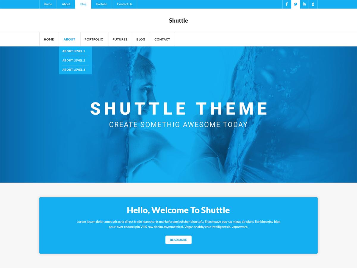WordPress主题:Shuttle myNews