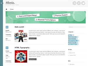 Silesia free wordpress theme