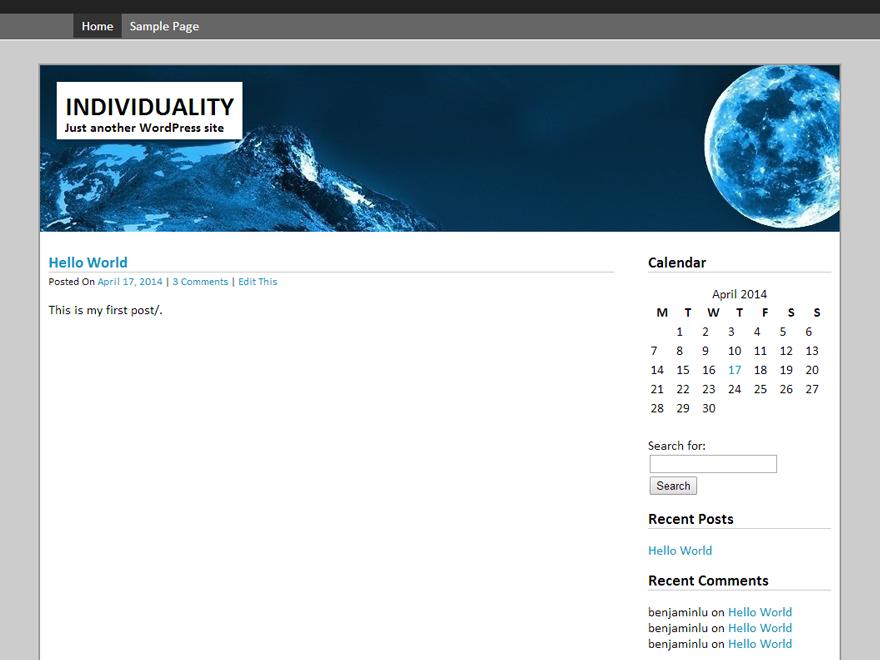 Silver Quantum theme wordpress gratuit