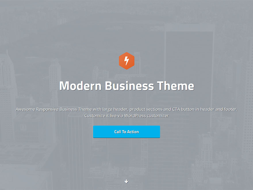 SilverStone free wordpress theme