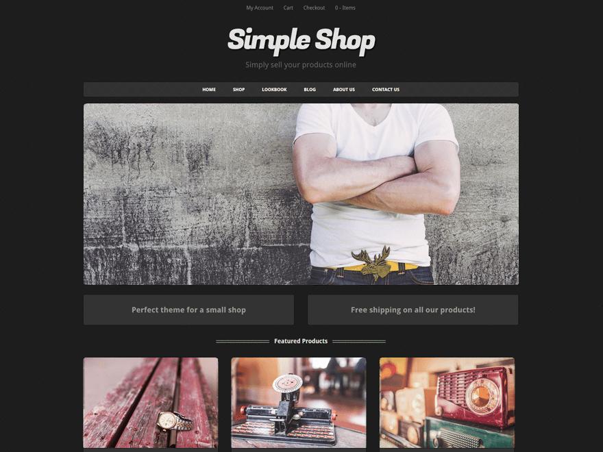 simple shop wordpress org