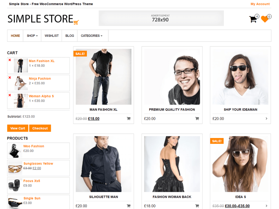 Simple Store Theme Free Download
