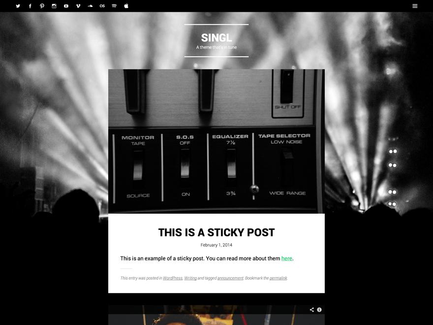 Singl | WordPress.org