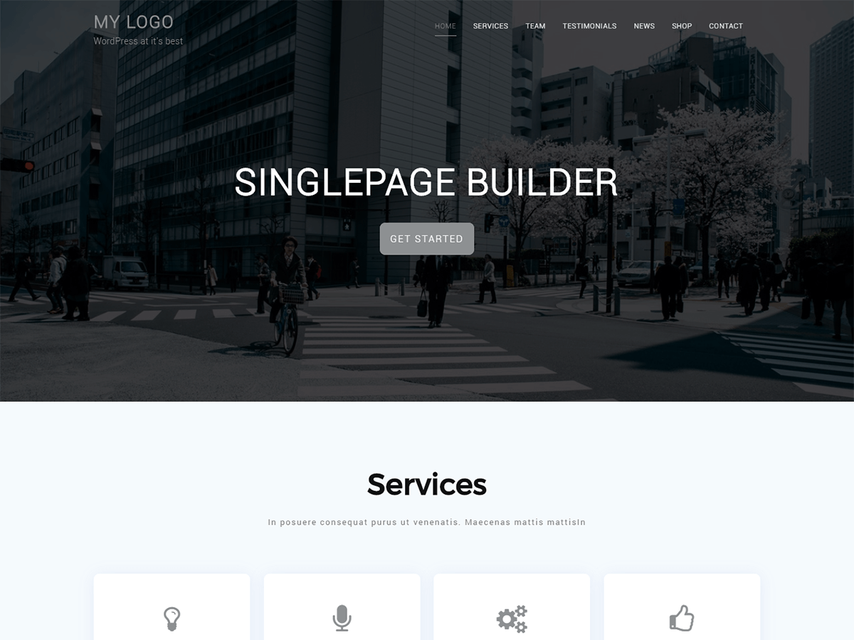 Singlepage Builder Is A Versatile One Page Theme For Creating Beautiful  Websites. This Theme Comes With Powerful Features Which Will Help You In  Designing A ...