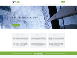 SKT Corp wordpress Theme