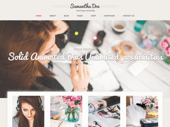 SKT Girlie Lite | WordPress.org