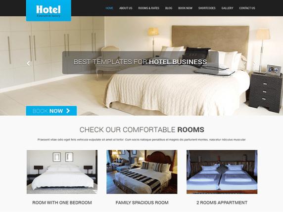 SKT Hotel Lite wordpress theme