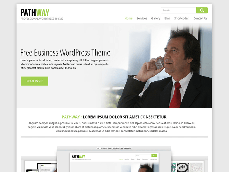 SKT Pathway free wordpress theme
