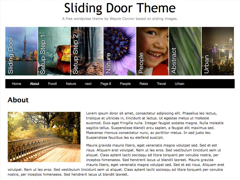 Sliding Door   WordPress.org