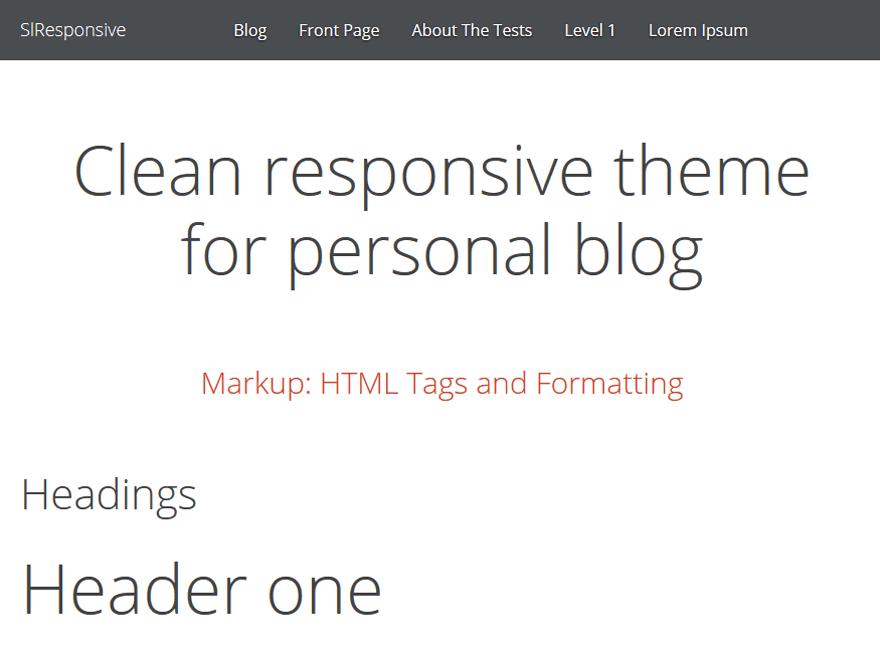 SlResponsive theme wordpress gratuit
