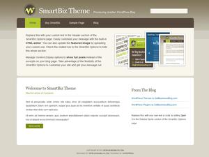 SmartBiz free wordpress theme